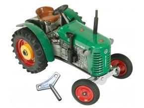 traktor zetor 25A kovová hračka por malé i velké děti
