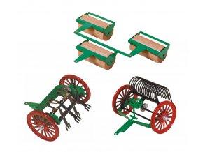 stroje na pole pro děti k traktorům