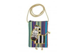 Dětská textilní taška - zebra