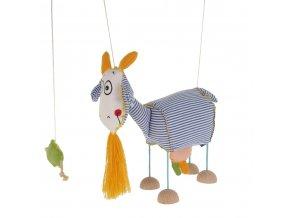 velká marioneta pro děti koza