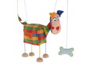 velká marioneta pro děti pejsek