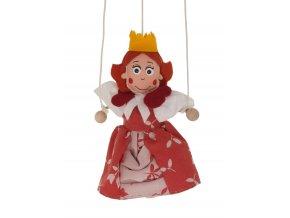loutka pro děti královna