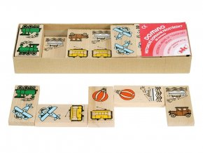 66053 dřevěné domino pro děti dopravní prostředky (2)