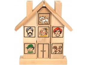 skládací domeček rodina pro děti