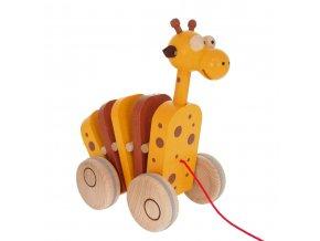 68102 tahací žirafa dřevěná hračka s pohybem (1)