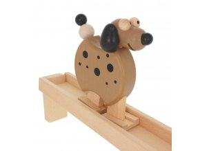 68115 pohyblivá dřevěná hračka pejsek chodička (3)