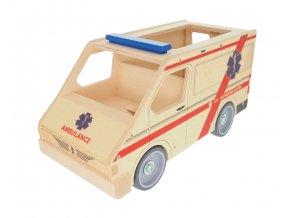 63293 velká dřevěná sanytka hračka pro kluky i holky