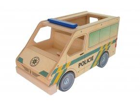 63294 policejní auto ze dřeva pro děti