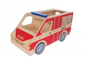 63295 auto dřevěné hasič velké
