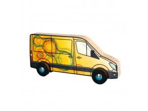 63301 autíčko dřevěná hračka pro děti
