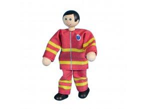 63315 ohebný panáček záchranář dřevěná hračka