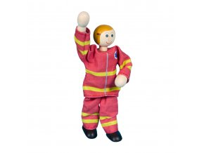 63316 ohebná panenka pro děti hračka záchranářka