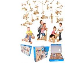 73003 dřevěná veliká stavebnice pro kreativní děti (2)