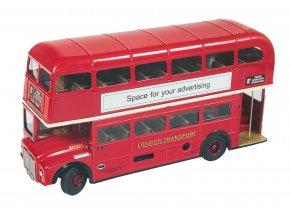 64115 kovová hračka londýnský dvoupatrový autobus (2)