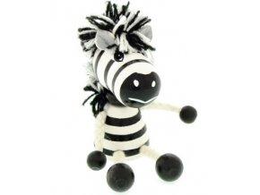 Figurka magnetka ze dřeva - Zebra