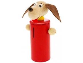 Kasička hračka ze dřeva Pes Blake