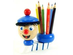 Stojánek na tužky hračka ze dřeva Námořník William
