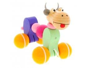 Tahací hračka ze dřeva Kravička Betty