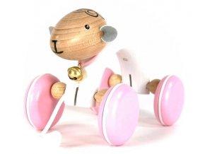 Tahací hračka ze dřeva ovečka (oblouk) Carol