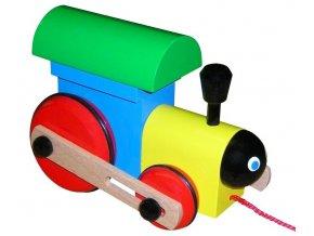 Mašinka hračka ze dřeva