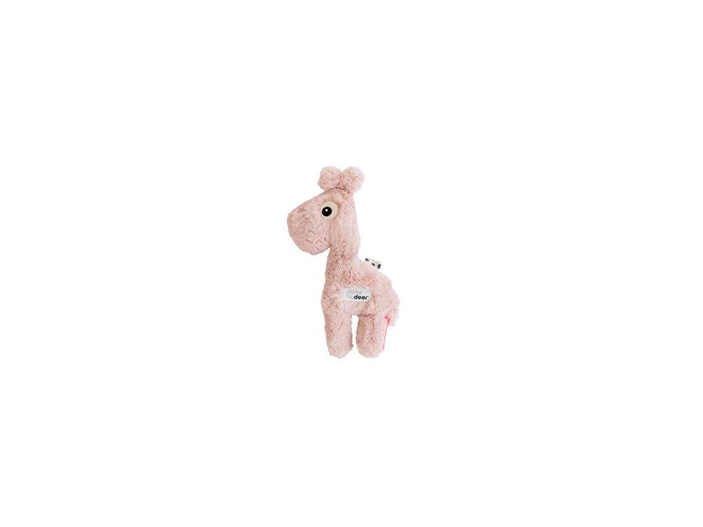 Mazlivá hračka Raffi malá - růžová