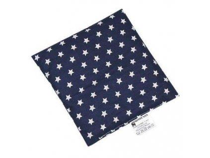 Nahřívací polštářek z třešňových pecek Hvězdičky