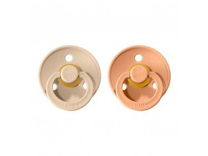 BIBS Colour dudlíky Vanilla/Peach