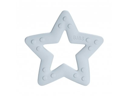 BIBS Baby Bitie kousátko Star Baby Blue