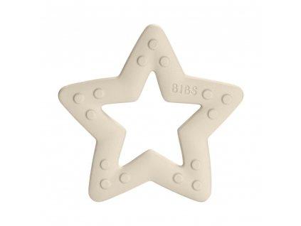 BIBS Baby Bitie kousátko Star Ivory