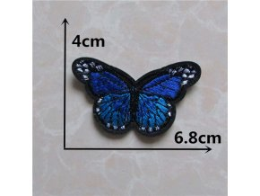 Mixed butterfly Patches Handmade Iron On Embroidered Applique DIY Garment Ornaments Fabric Badge Accessories C5470 C5491.jpg 640x640 (6)