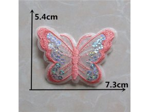 Mixed butterfly Patches Handmade Iron On Embroidered Applique DIY Garment Ornaments Fabric Badge Accessories C5470 C5491.jpg 640x640 (10)