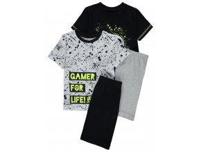 """CHLAPECKÉ PYŽAMO """"GAMER FOR LIFE"""""""