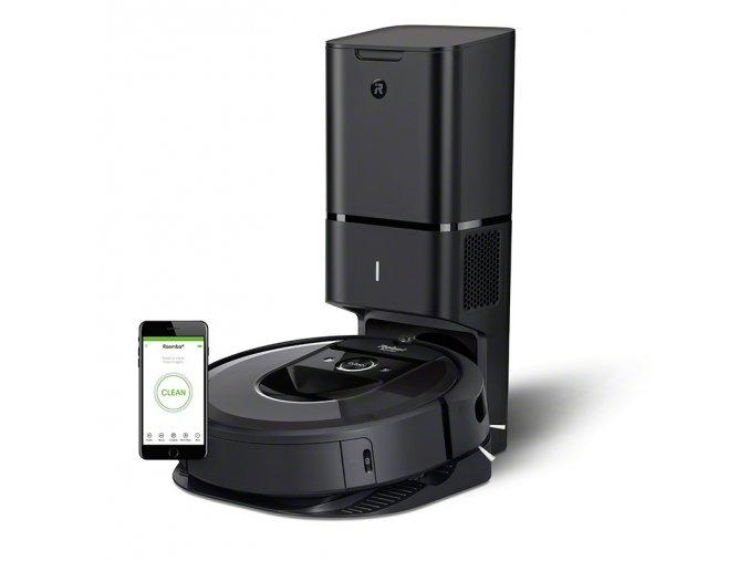 i7 Charcoal CleanBase Photo Studio LeftStanding Hero Phone