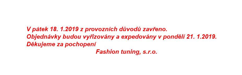 18.1.2019 zavřeno