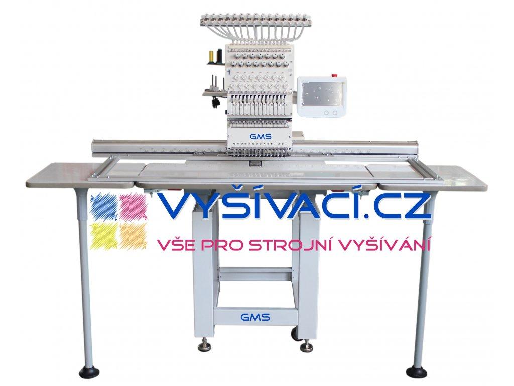 60e732d6a62 vyšívací stroj GMS-FT1501XXL41 průmyslový 15-ti jehlový s extra velkou  pracovní plochou 41x120cm