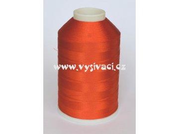 vyšívací nitě oranžová ROYAL C032 návin 5000 metrů viskóza