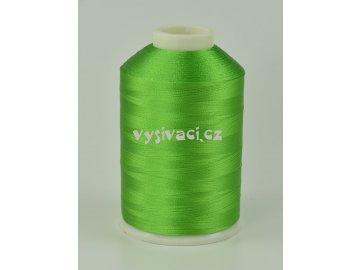 vyšívací nitě zelená ROYAL C749 návin 5000m viskóza