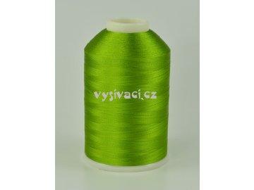 vyšívací nitě zelená ROYAL C425 návin 5000m viskóza