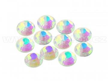 CBEP 1234 AB Nude Crystal velikost SS20 hot fix kameny na textil celobroušené Premium Extra