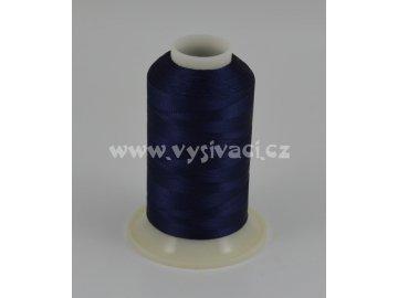 vyšívací nit modrá ROYAL C139 návin 1000m viskóza