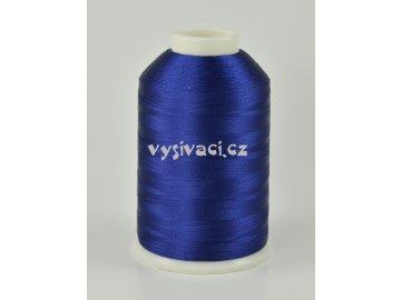 vyšívací nitě modrá ROYAL C137 návin 5000 metrů viskóza