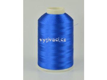 vyšívací nitě modrá ROYAL C131 návin 5000 metrů viskózové
