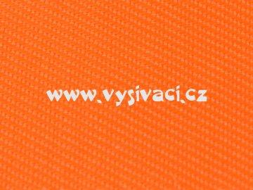 ELEGANT materiál pro vyšívání nášivek a aplikací š.150cm barva 155 oranžová signální