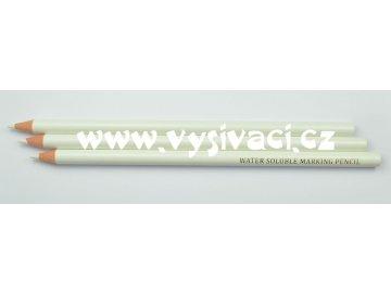 tužka na textil vodou odstranitelná bílá