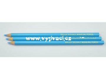 tužka na textil vodou odstranitelná modrá