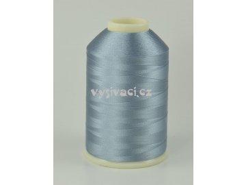 vyšívací nitě šedá ROYAL C327 návin 5000m viskóza