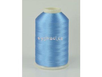 vyšívací nitě modrá ROYAL C124 návin 5000 metrů viskózové