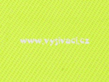 ELEGANT materiál pro vyšívání nášivek a aplikací š.150cm barva 145 žlutá signální