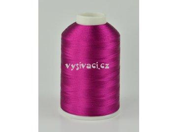 vyšívací nitě fialová ROYAL C349 návin 5000 metrů viskóza