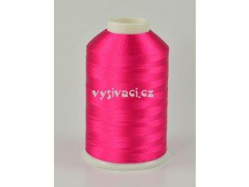 vyšívací nitě růžová fuchsia ROYAL C436 návin 5000 metrů viskóza